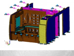Structures Finite Element Modeling Stowage Compartments