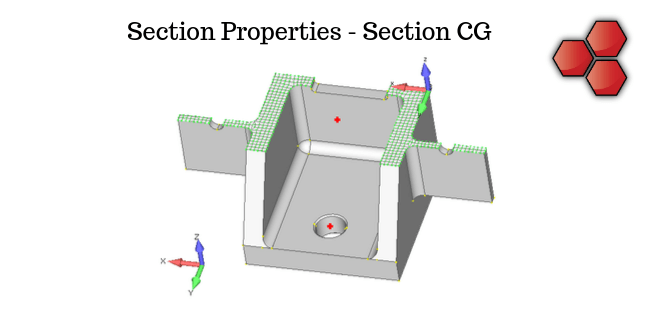 Section Properties - Section CG