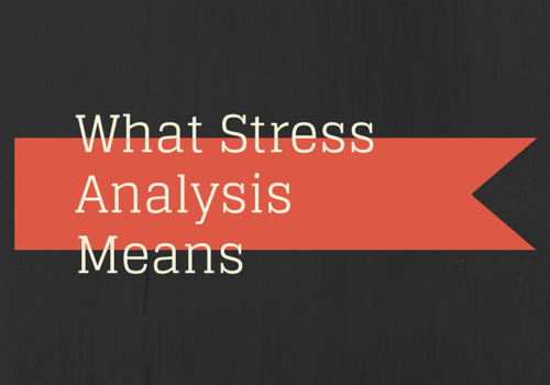 What is Aerospace Stress Analysis Means