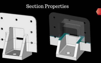 Section Properties Floor Fitting