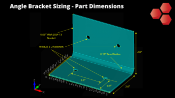 Angle Bracket Sizing - Dimensions