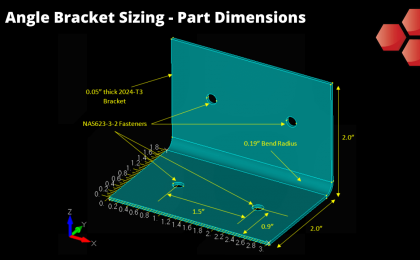 Angle Bracket Sizing - Dimensions