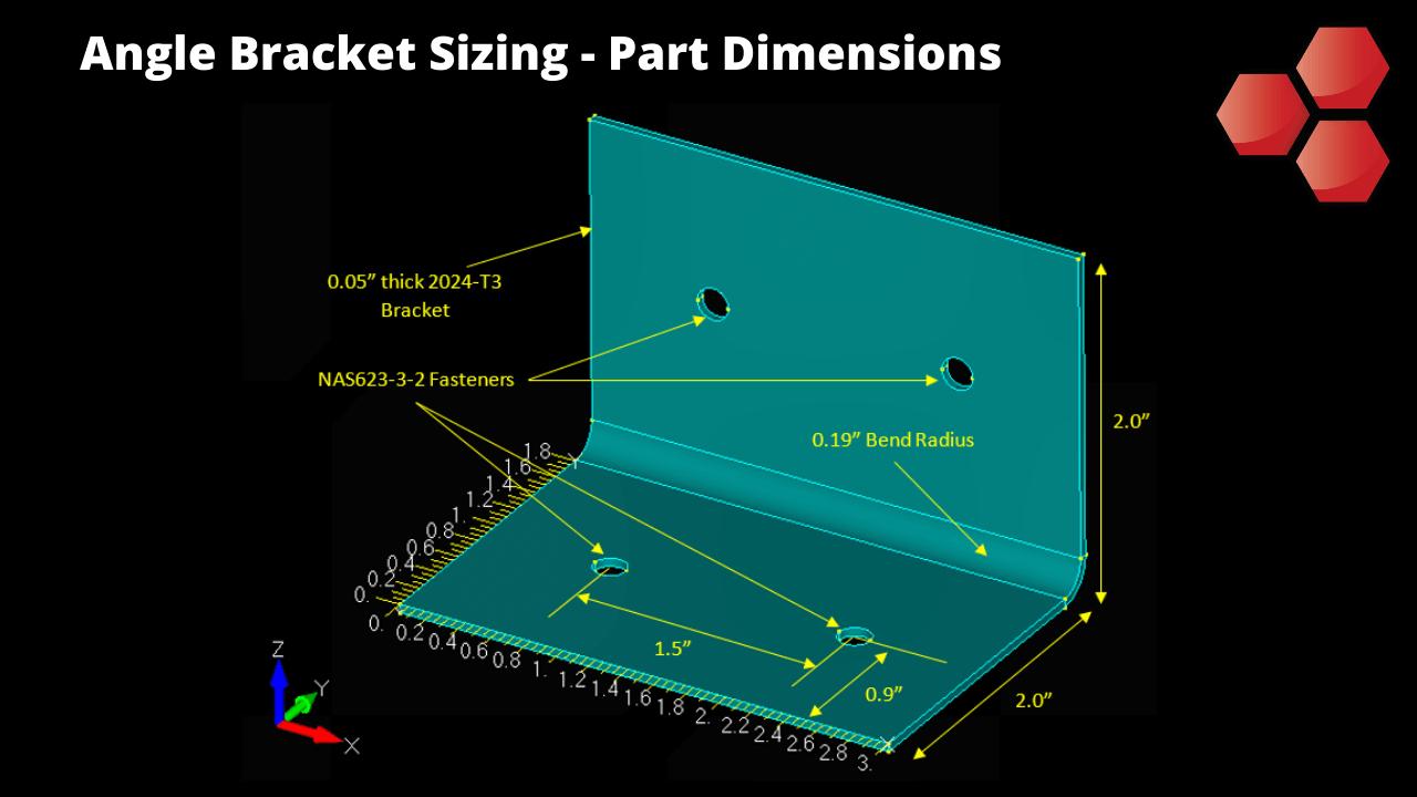 Angle Bracket Sizing and Stress Analysis